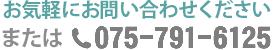 電話番号075-791-6125